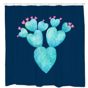 Desert HeartsShower Curtain