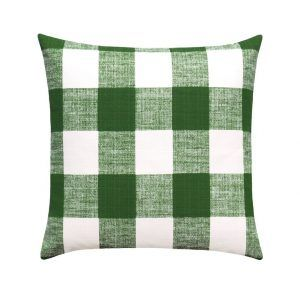 Green Outdoor Pillow Case