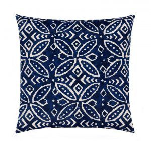 Navy Blue Throw Pillow Case