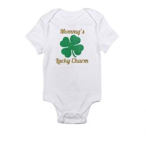 Mommy's Lucky Charm - St. Patrick DayBaby Onesie