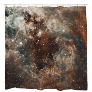 Tarantula Nebula in the Large Magellanic Cloud Shower Curtain