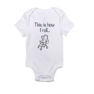 This is how i rollBaby Onesie