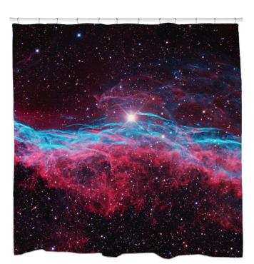 Veil NebulaShower Curtain