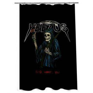 Yeezus Kanye westShower Curtain