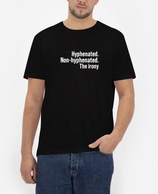 Hyphenated-Non-Hyphenated-Black-T-Shirt