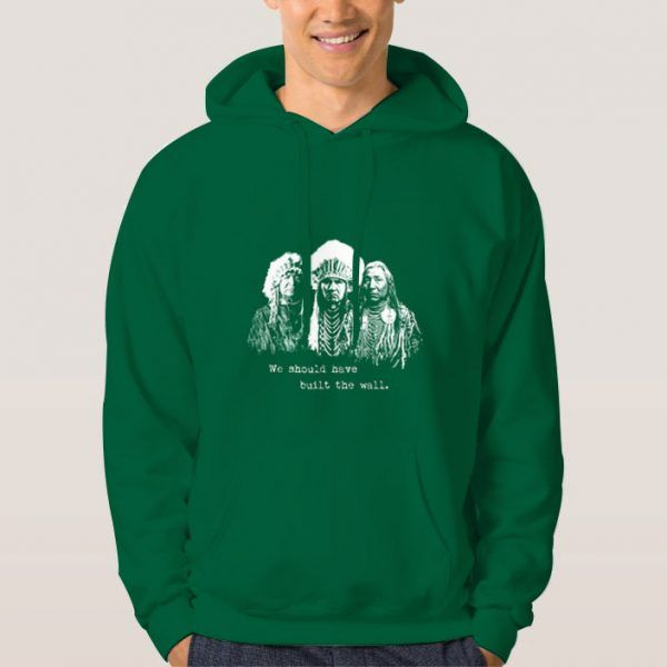 We-Build-The-Wall-Green-Hoodie