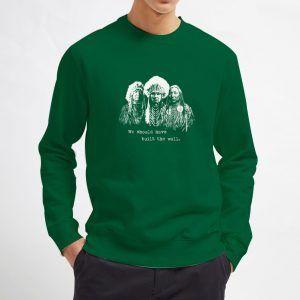 We-Build-The-Wall-Green-Sweatshirt