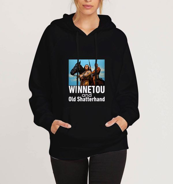 Winnetou-And-Old-Shatterhand-Black-Hoodie