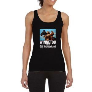 Winnetou-And-Old-Shatterhand-Black-Tank-Top